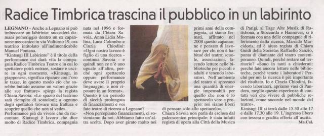 radice timbrica teatro teatrino fontana Chiara H. Savoia performance