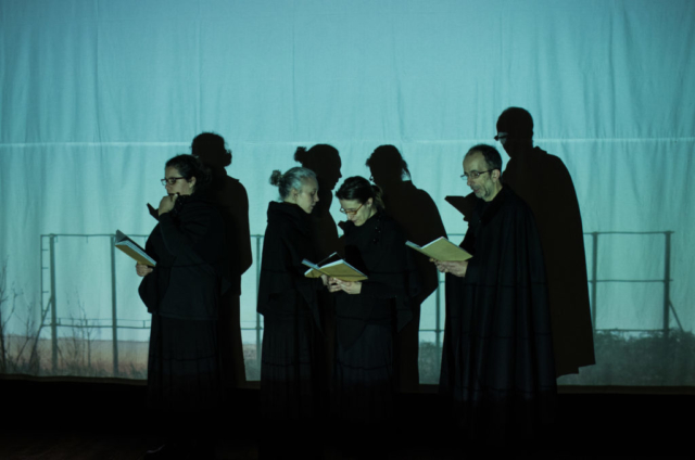 sibilando il nero radicetimbrica teatro Chiara H. Savoia Anna Lidia Molina Cinzia Chiodini Luca Colombo giovanni pascoli